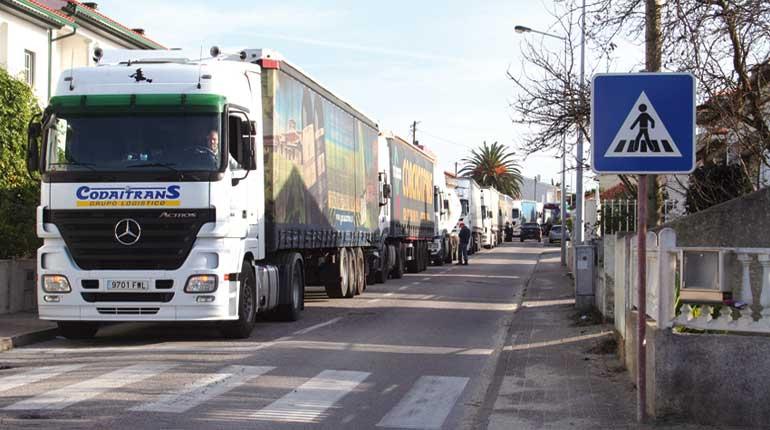 Câmara estuda alternativas para reduzir impacto do trânsito pesado